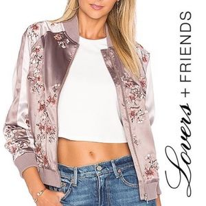 Lovers + Friends x REVOLVE The Worldwide Bomber XS